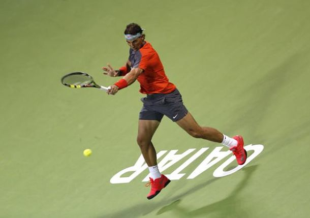Nadal Avenges Wimbledon Loss to Rosol in Doha