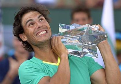 Nadal wins Indian Wells 2013