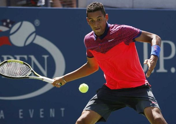 Rising Kyrgios Steadies for Battle with Robredo