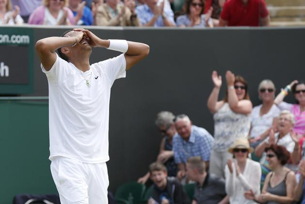 Video: Nick Kyrgios Ties Open Era Record for Match Points Saved at a Major