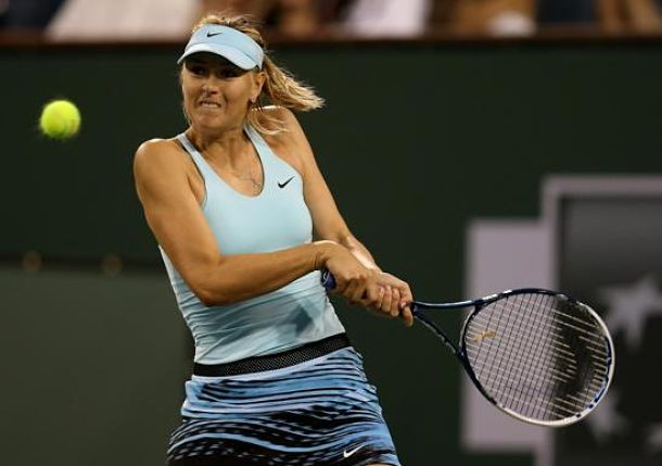 Sharapova Begins Indian Wells Title Defense with Easy Win over Goerges