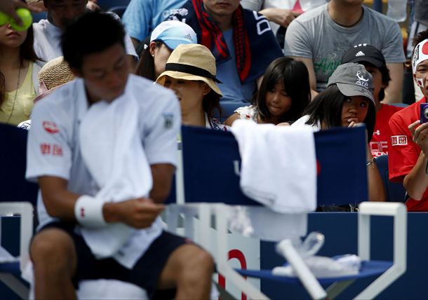 Despite Lack of Match Play, Nishikori Finding Form in NY