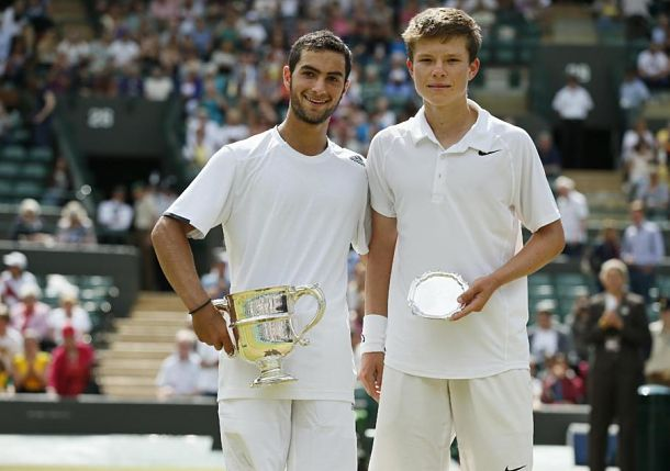Noah Rubin Defeats Stefan Kozlov in First All-American Wimbledon Junior Boys' Final since 1977