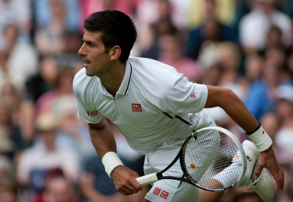 Djokovic Dominates as Dimitrov Left Hanging on Day 4