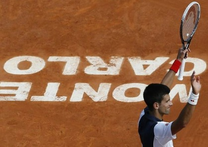 Djokovic Needs 45 Minutes to Dismantle Montanes in Monte-Carlo