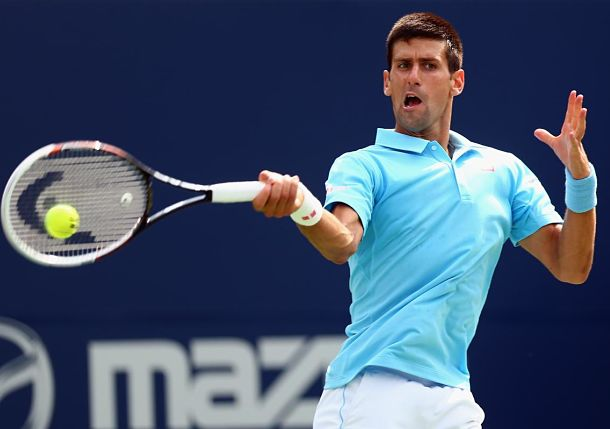 Djokovic Squeaks by Monfils After Wild Tilt