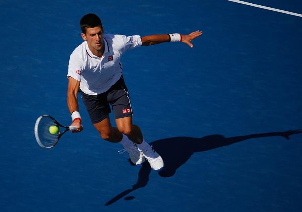 Dialed in, Djokovic Dances to Victory over Mathieu