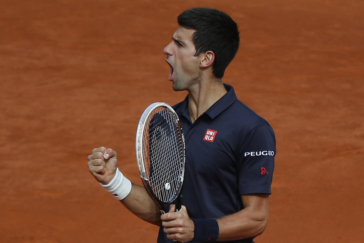 Djokovic on Point with Straight-Sets Takedown of Raonic