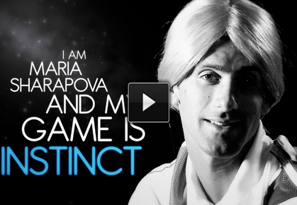 Novak Djokovic impersonates Maria Sharapova (full commercial)