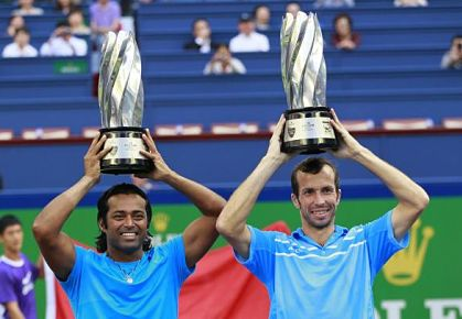 Paes & Stepanek Win Shanghai Grudge Match