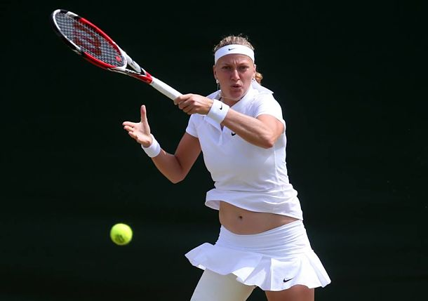 Kvitova Leads Trio of Czechs into Wimbledon Quarterfinals