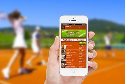 Find Your Next Hitting Partner with New Tennis Buddy App
