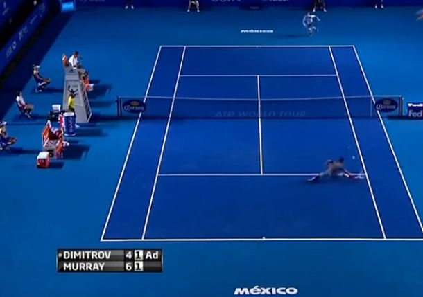 Video: Dimitrov Plays a Freakishly Superb Point Against Murray in Acapulco