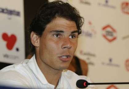 Rafael Nadal Returns to Vina Del Mar