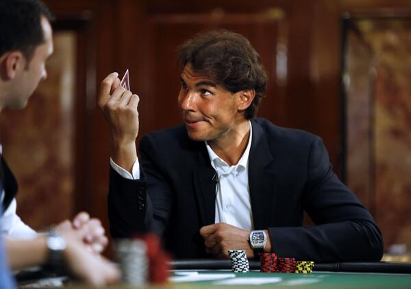 Nadal Loses Charity Poker Match to Vanessa Selbst