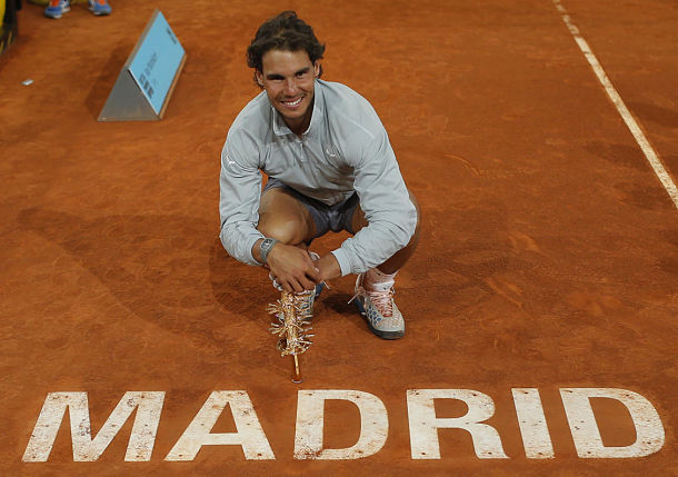 Nadal Defends Madrid Title with Win over Ailing Nishikori   - Tennis Now