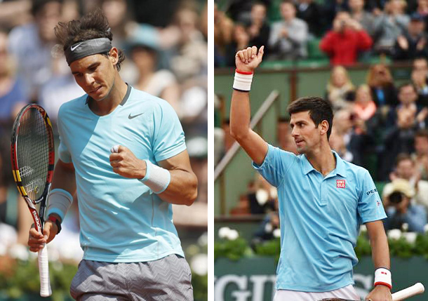 Djokovic, Nadal Drawn into Same Quarter of US Open Draw