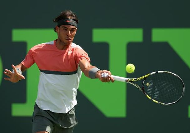 Video: Nadal Crushes Massive Inside-Out Forehand Against Djokovic in Miami