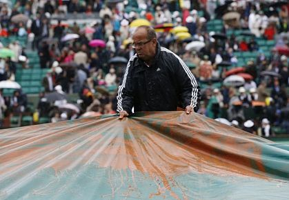 Rain Delay pushed French Open final to Monday