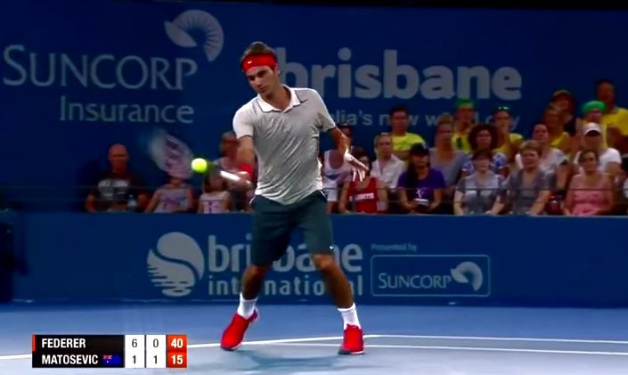 Video: Roger Federer's 10 Best Shots of 2014 (Part 1)