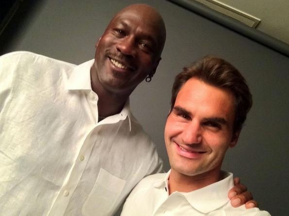 Federer Joins Instagram, Hangs with MJ