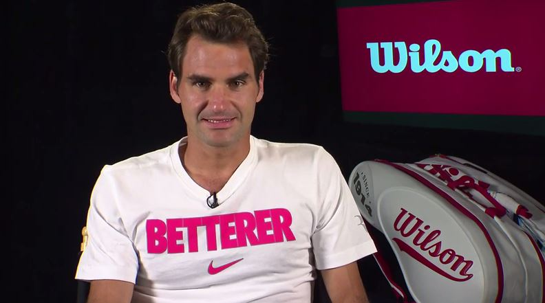 Video: Federer Talks US Open, New Stick with Wilson Tennis