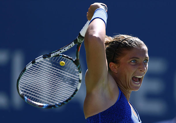 Sara Errani Day 5 2014 US Open