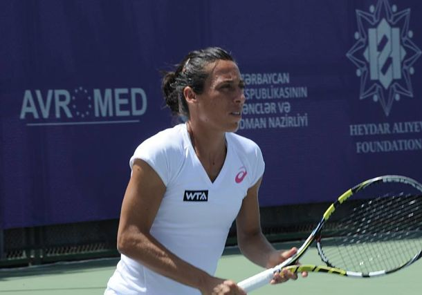 Francesca Schiavone Reaches first Quarterfinal of 2014 in Baku