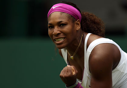 Serena Williams wins the 2012 Wimbledon Singles Title