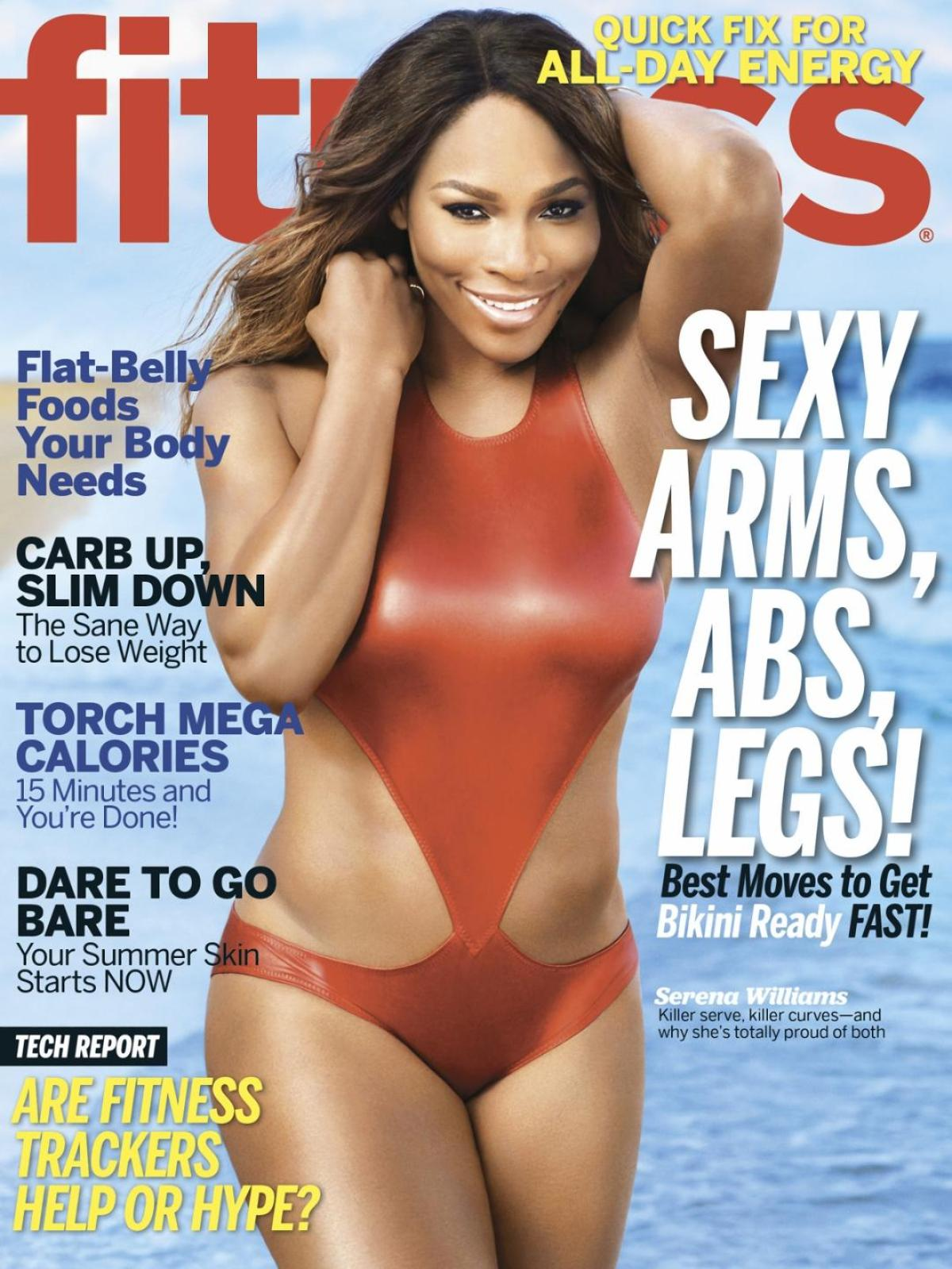 Serena Williams Shows off Rockin' Body in Fitness Magazine