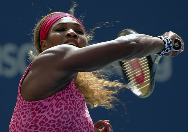 On Breezy Day, Serena Williams Breezes Past Vania King