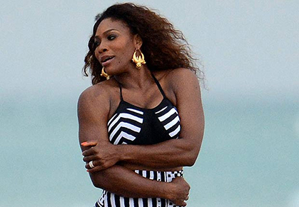 Serena Williams photo shoot