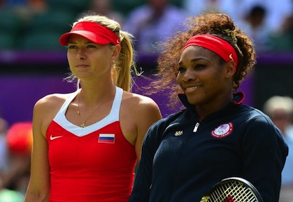 Sharapova and Williams