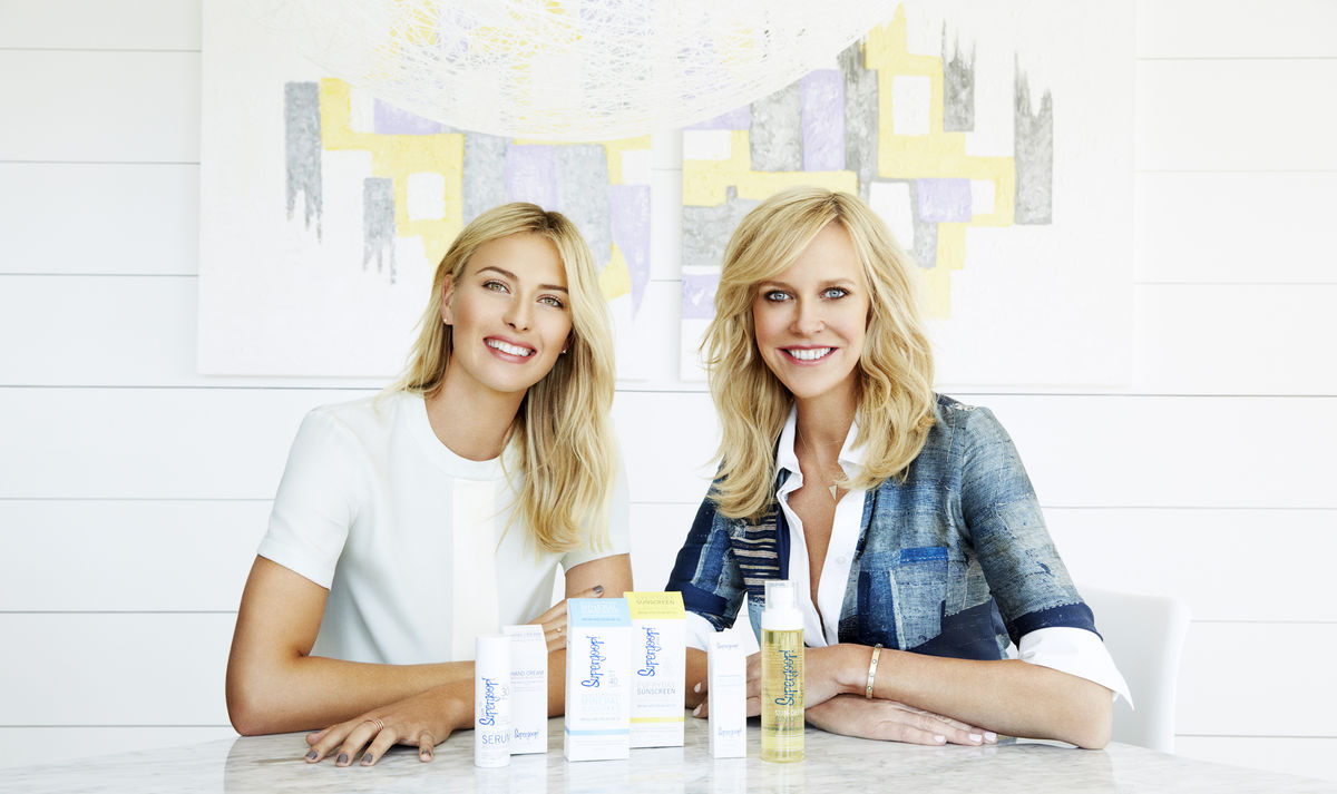 Sharapova Joins Forces With Supergoop!