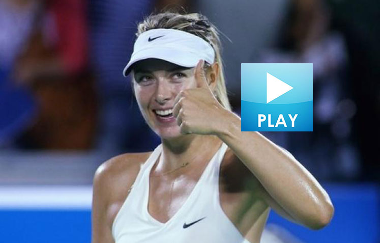 Sharapova's Soccer Skills – Federer in China