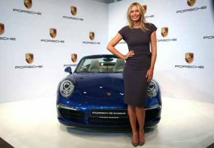 Maria Sharapova - Porsche Endorsement