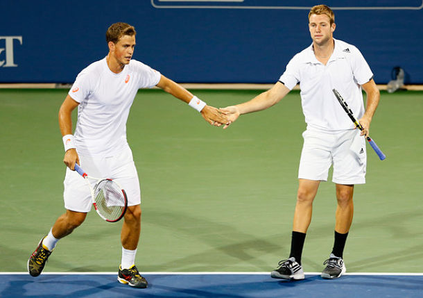 Sock and Pospisil, Atlanta 2014