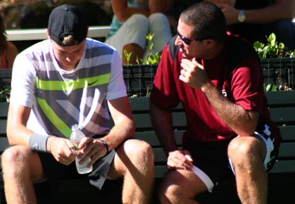Jack Sock and Jay Berger