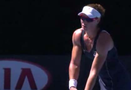 Watch: Stosur's Fantastic Flubbed Serve