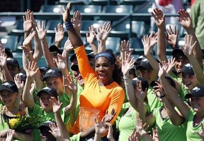 Serena Williams, Family Circle Cup 2013
