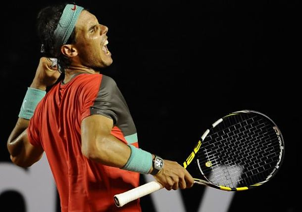Video: Nadal Hits Perfect Dropper in Rio Final vs. Dolgopolov