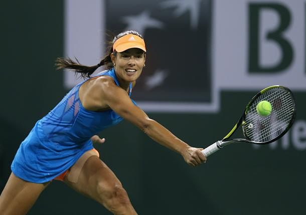 Video: Ana Ivanovic Hits a Sweet Tweener but Sloane Stephens Takes the Point