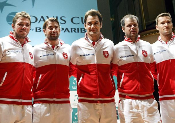 Federer, Wawrinka Hope to Elevate Swiss to First Davis Cup Final Since '92
