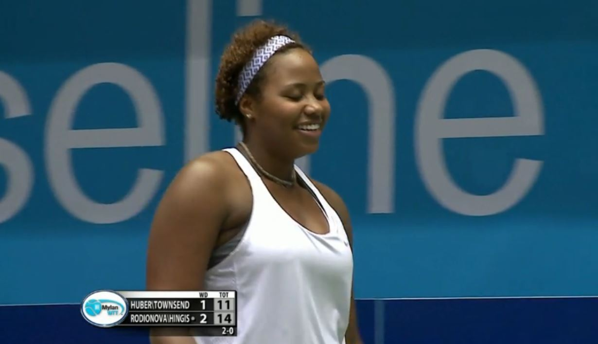 Bizarre Moment During WTT Match Leaves Taylor Townsend Playing Doubles by Herself