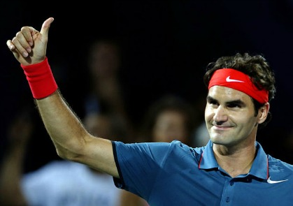 Federer Thumps Rosol to Set Up Djokovic Clash
