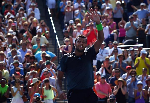 Tsonga Reaches Third Masters Final with Win over Dimitrov