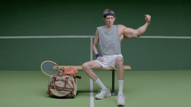 New USTA commercials? GOSH!!!