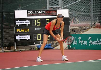 Nicole Vaidisova Makes Winning Return to Tennis
