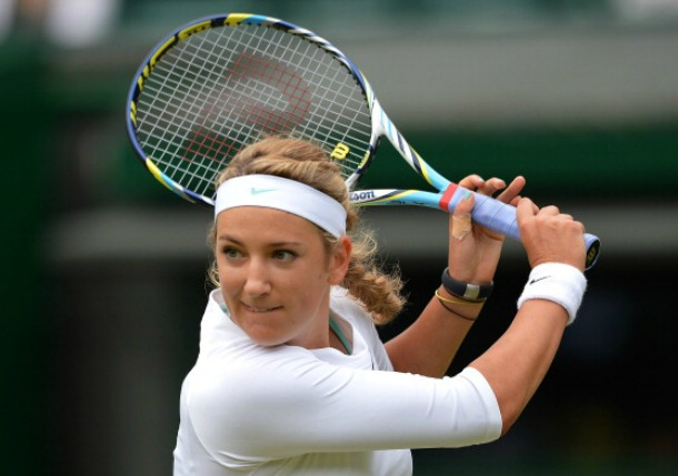 Azarenka Notches First Win Since January in Wimbledon Opener