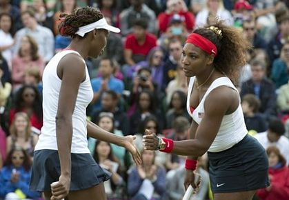 Williams Sisters at the Olympics